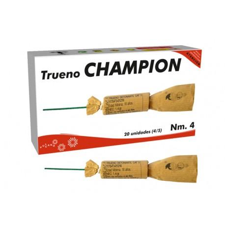 TRUENO CHAMPION Nº4
