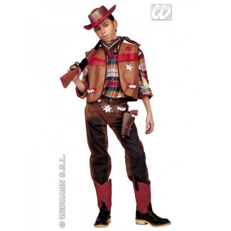 SET COW BOY MARRON