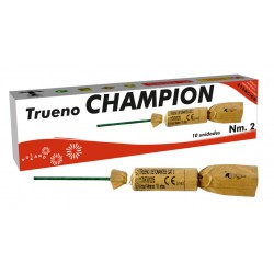 TRUENO CHAMPION Nº 2 - 10 Unid