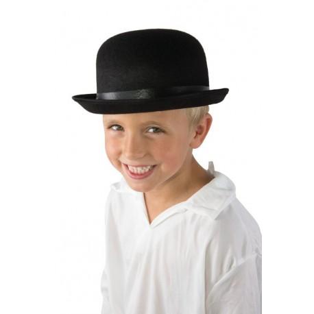 Bomb/ín Negro Infantil de Fieltro