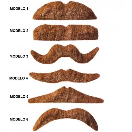BIGOTE RUBIO 6 MODELOS