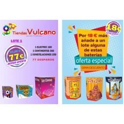 LOTE BATERÍAS Nº 1 + 1 DIOSES DE 19 DISPAROS
