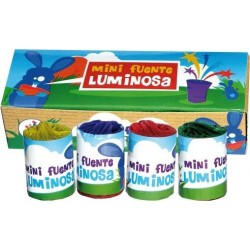 MINI FUENTE LUMINOSA 4 u